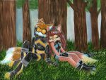 Tails and Lyco by RainWaterfallsZone