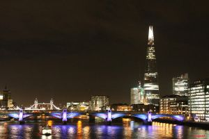 Thames Night by penfold5