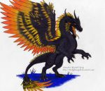 Orkano, The Black Dragon by 8TwilightAngel8