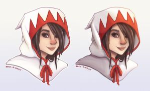 White Mage Speedpaint by such-a-wally