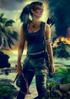 Lara Croft, Tomb Rader Reborn by Jay Merryweather by MWXDesign