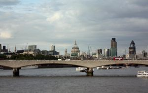 Cityscape from Southbank by Moozman