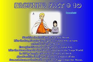 NaruHina Fact #10 : Sun and Moon by lunaneko144