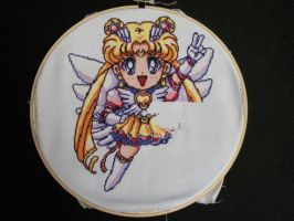 Chibi Sailor Moon Xstitch WiP5 by PocketChibisAndSuch