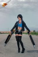 fem!Ace cosplay , One Piece Strong World by Mellorineeee