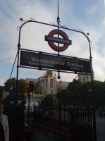 Westminister Tube Station by evilminky666