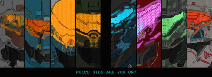 Which side are you on? by SkyBlue-Chan