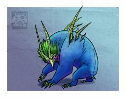 Monster Taum by cooley