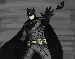Batman by Demon-Sword-Art