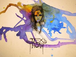 Jex Thoth Ink by DarkDeadRose