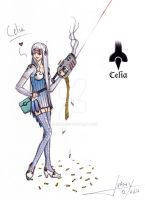 Celia by JuanX