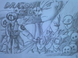 Dragonball Z fanart by ZeroHunter112