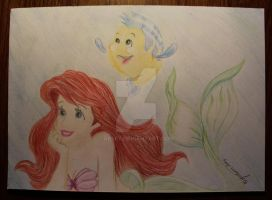 Ariel - The Little Mermaid by Arspe
