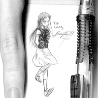 Smallest Drawing I ever drew by Keh-ven