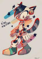 Time Machine The Lemur by quickfoxjumper