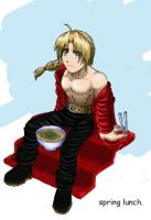 edwardelric- spring lunch by chibikasai