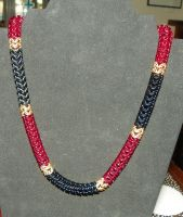 Coral Snake Necklace by ydoc16
