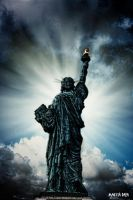 Statue of Liberty (French replica) by Maesta-Dara