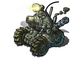 The Metal Slug SV-001 by alexsanlyra