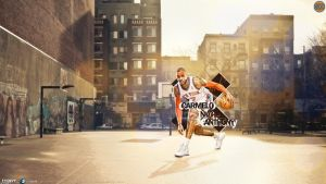 165. Carmelo Anthony by J1897