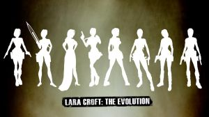 Lara Croft: The Evolution by Meagan-Marie