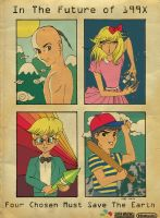 Earthbound - The Chosen Four by noelle-chan