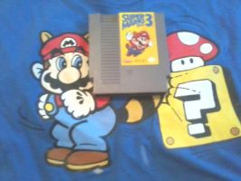 Mah favorite game and favorite shirt by MyLittleRoseluck