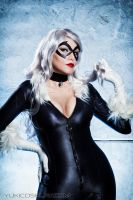 Black Cat Cosplay by Yukilefay