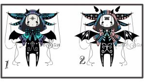 Monster doll pet adoptable CLOSED by AS-Adoptables