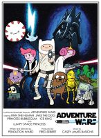 Adventure Wars Poster by JMKohrs