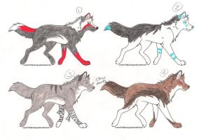 13 Points adoptables- All gone by xLightningEchox