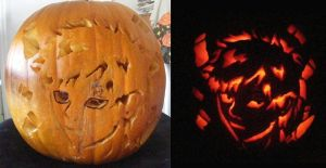 Gaara Pumpkin by XxXPixelPerfectXxX
