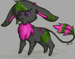 Art Trade: Wire Tailed Bunny by SwarmEternal