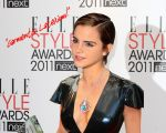 Emma Watson at Elle style awards wearing Latex by Andylatex