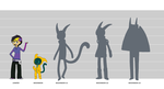 Juniper Moonmon Height Chart by Meeshi