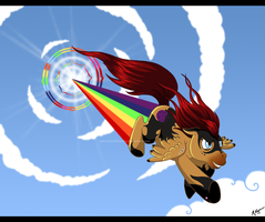 Sonic Rainboom by Crimson-Mane