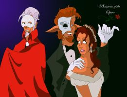 Phantom of the Opera by unicorn-skydancer08