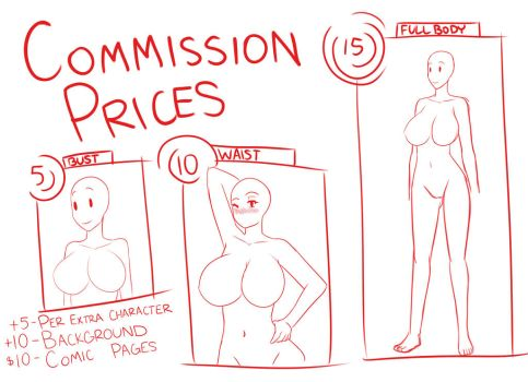 Commission Prices ( OPEN ) by Xeitense