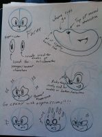 How I do sonic faces by MagicalPouchOfMagic