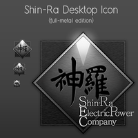 Full Metal ShinRa Icon by gas01ine