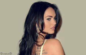 Megan Fox 7 by ArtSlash13
