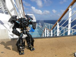 Where's Ironhide? At Sea by Letohatchee