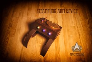 Steampunk Arm Device 1 by flosvensson