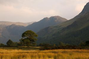 Dusk at Crummock Water by parallel-pam