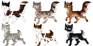 Cat Point Adoptables - :Closed!: by MistDapple