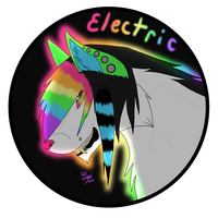 Electric Badge by ObliviousRiot