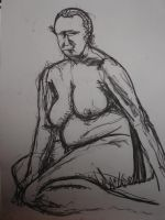 Life drawing 2 by heely