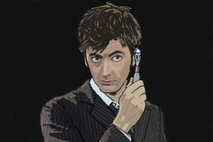 10th Doctor - David Tennant by Beanie-Jess-09
