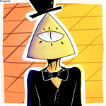 Bill Cipher by PixelzWorksYT