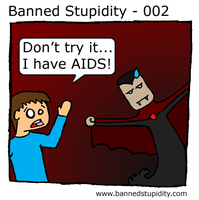 Banned Stupidity - 002 by neosilverdagger